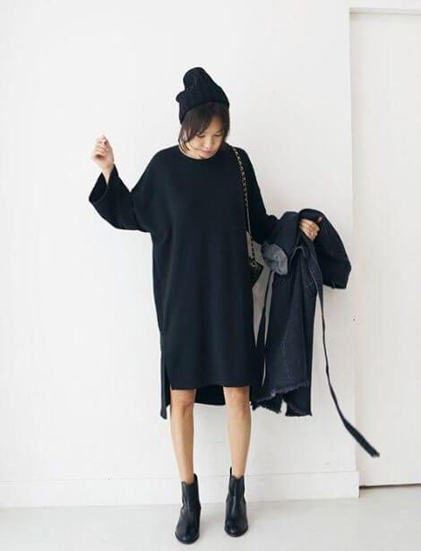 Phong cách giản dị - Ảnh 2 - 5 Mẹo mặc trang phục màu đen cho nữ mà bạn nên biết