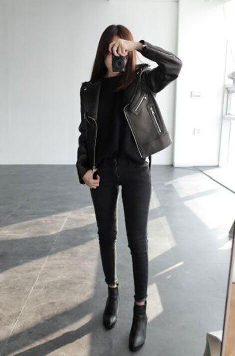Phong cách sắc sảo - Ảnh 1 - 5 Mẹo mặc trang phục màu đen cho nữ mà bạn nên biết