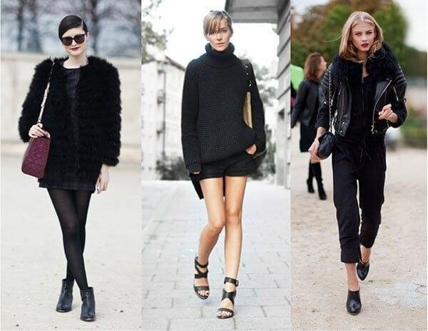 5 Mẹo mặc trang phục màu đen cho nữ mà bạn nên biết