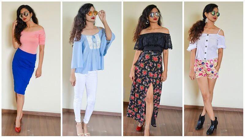 Một trong những xu hướng thời trang lớn nhất của mùa hè là kiểu lệch vai. Hình dạng độc đáo của nó làm cho nó mát mẻ và gợi cảm trong mùa hè.