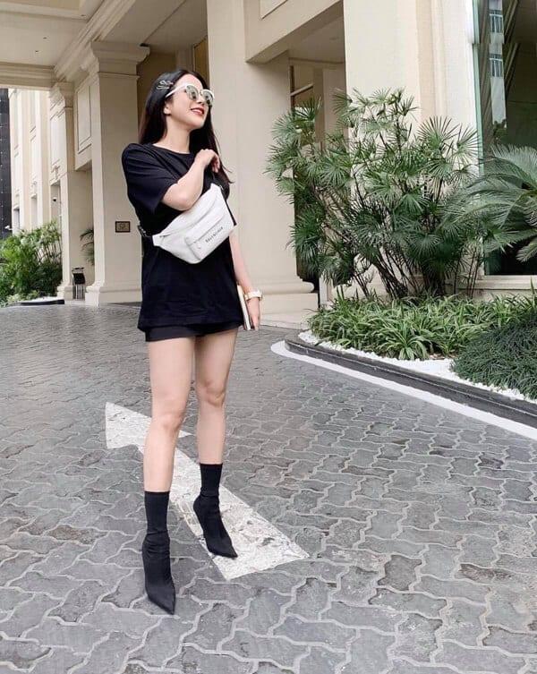 Style dạo phố mùa nắng của 'Sao Việt' - Ảnh 8