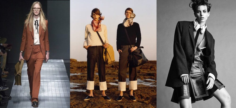 Thời trang unisex - Xu hướng thời trang không giới tính