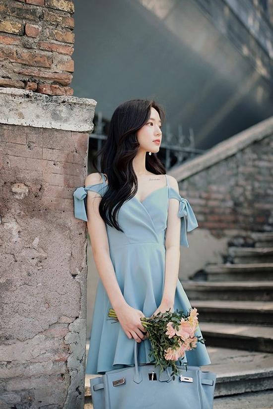 Váy khoe trọn bờ vai trắng nõn nà cho nàng công sở - Ảnh 7