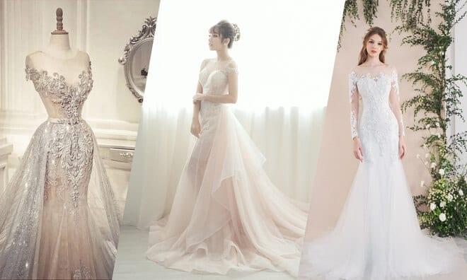 7 Mẫu váy cưới sang trọng, quý phái nhìn thôi đã muốn sở hữu