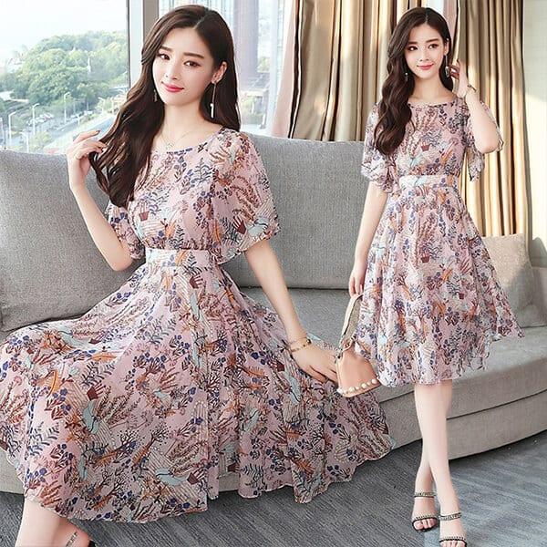 Váy voan hàn quốc đẹp - Ảnh 2