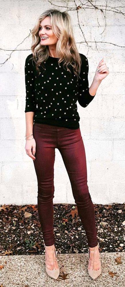 Chọn quần skinny cho bộ sưu tập cho người lùn