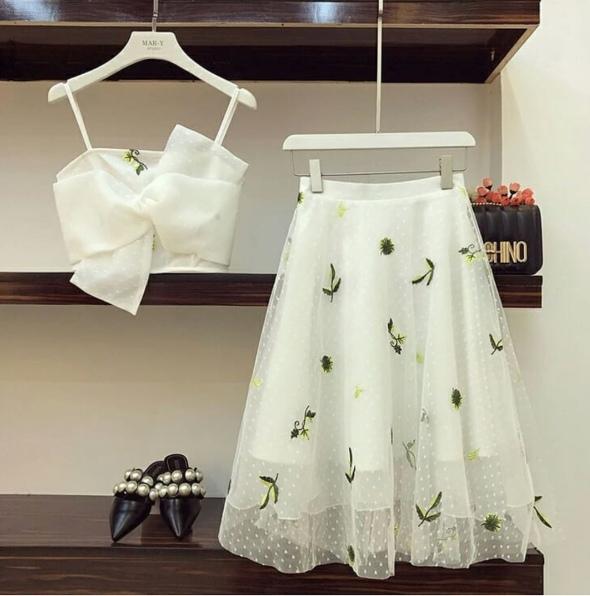 Ý tưởng style mix áo với chân váy [P.1] - Ảnh 5