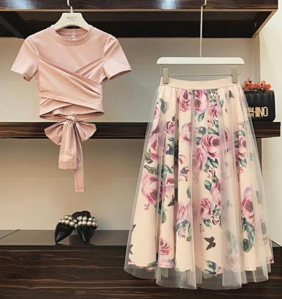 Ý tưởng style mix áo với chân váy [P.1] - Ảnh 3