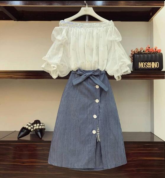 Ý tưởng style mix áo với chân váy [P.1] - Ảnh 2