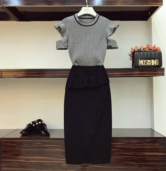 Ý tưởng style mix áo với chân váy [P.1] - Ảnh 1