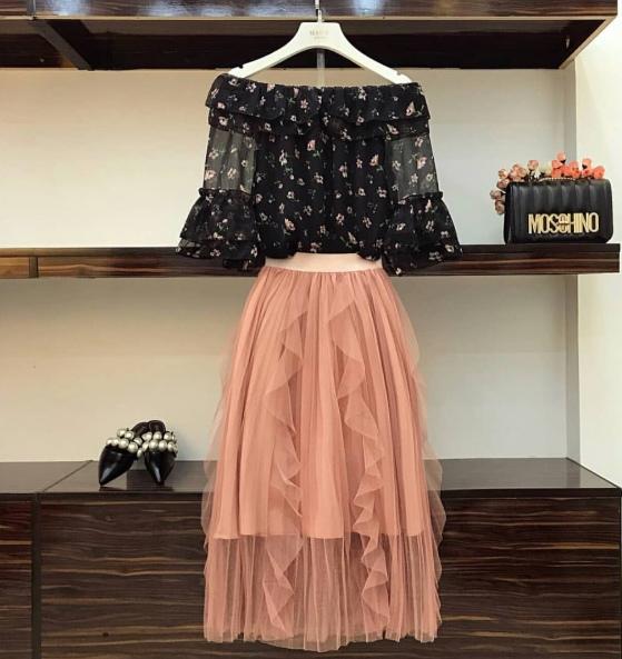 Ý tưởng style mix áo với chân váy [P.1] - Ảnh 6