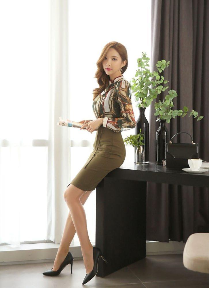 Đồng phục nhân viên văn phòng - Mẫu 10