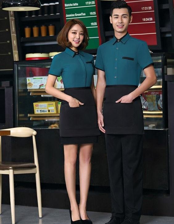 Đồng phục nhân viên cafe - Mẫu 1
