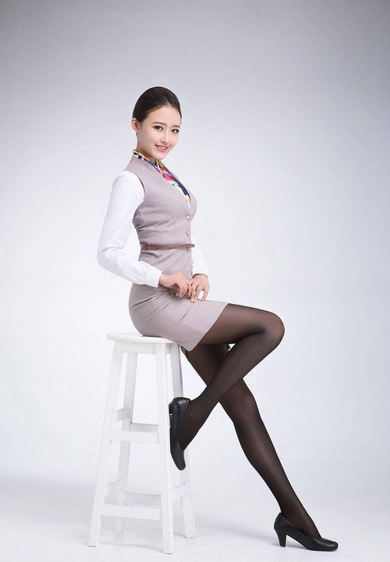 Đồng phục nhân viên hàng không - Mẫu 1