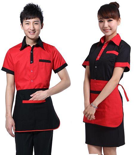 Đồng phục nhân viên phục vụ - Mẫu 1