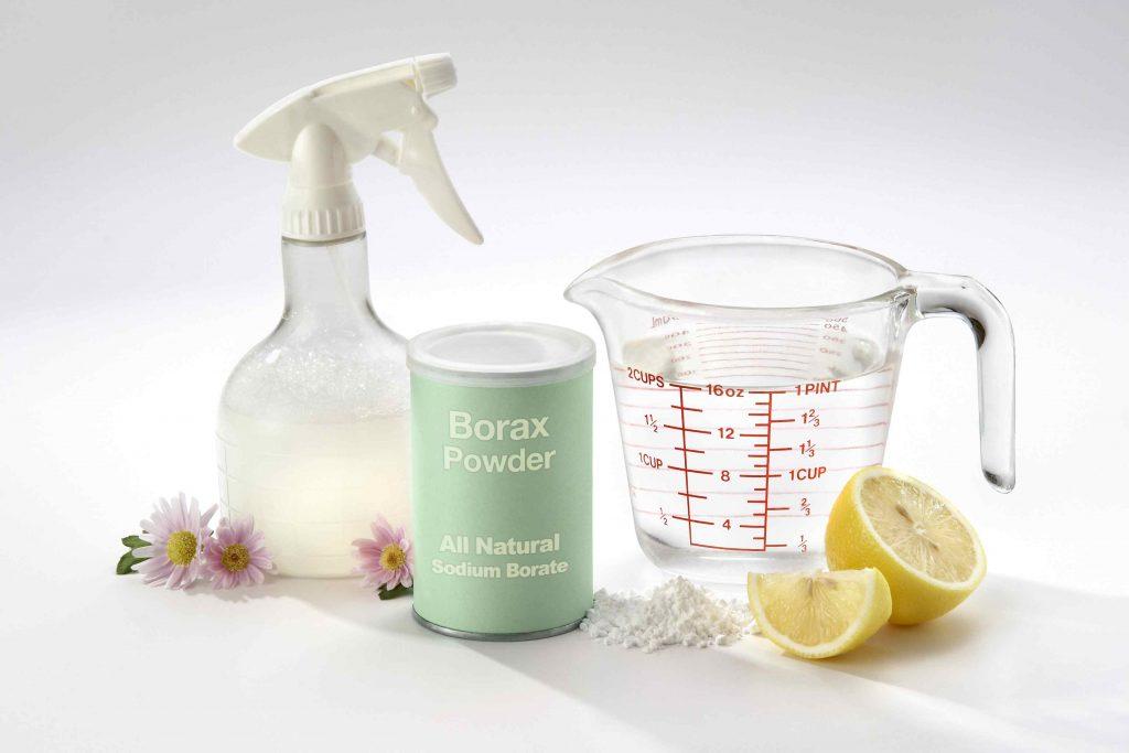 Chanh và bột giặt không hóa chất