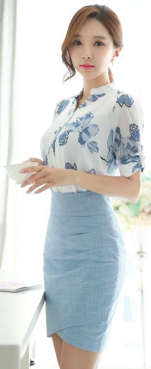 """Mát mẻ với tông xanh trắng - Tổng hợp những kiểu áo voan """"LÀM MƯA LÀM GIÓ"""" đẹp nhất hiện nay"""
