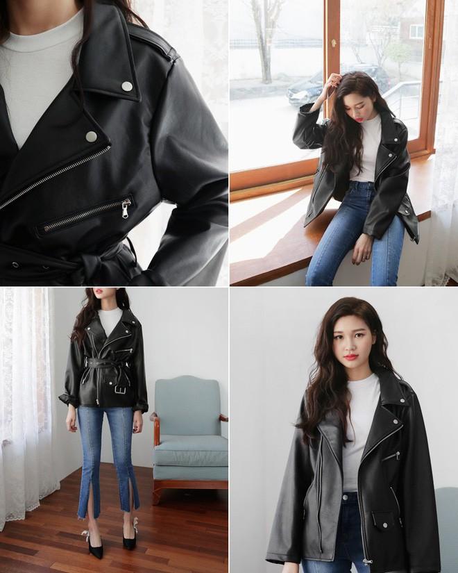 Áo jacket da đi du lịch mùa đông