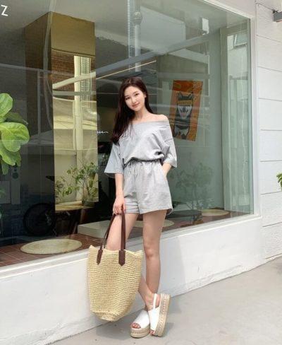 Áo quần short vải