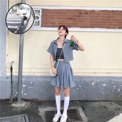 Một set đồ học sinh đậm phong cách Hàn Quốc