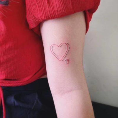 Biểu tượng hai trái tim