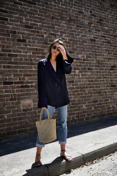 Mix áo free size với quần dài