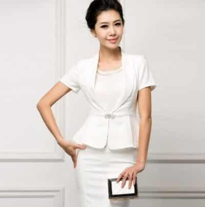 Màu trắng tạo sự thanh lịch và tinh tế