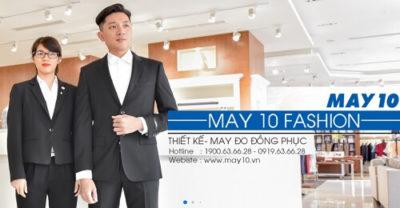 Thương hiệu May 10 - Danh sách thương hiệu thời trang nổi tiếng ở Việt Nam
