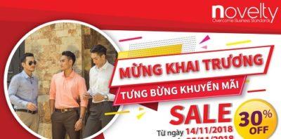 Thương hiệu Novelty - Danh sách thương hiệu thời trang nổi tiếng ở Việt Nam
