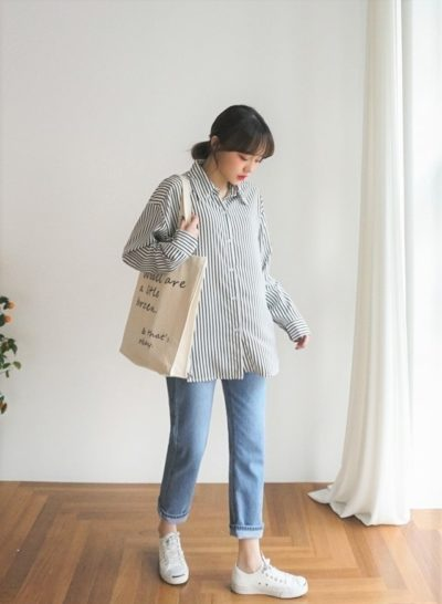 Cảm thấy khó khăn khi mix đồ cùng jeans ống đứng, các nàng có thể tham khảo ngay các gợi ý trên