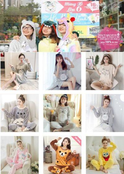 Shop Đồ Bộ Nữ Đẹp Totoro 1988 - List shop đồ bộ mặc nhà cho nữ đẹp, dễ thương tại TPHCM
