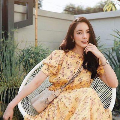 Váy vàng xinh chói chang luôn nè chị em ưi!!