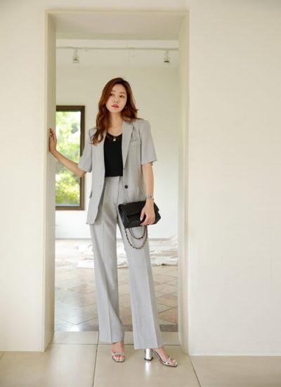 Kết hợp cùng blazer, thêm thắt lưng khi cần tôn nét lịch lãm, trang trọng - Ảnh 2