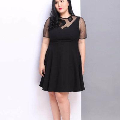 Váy xòe cho người béo tại sao không