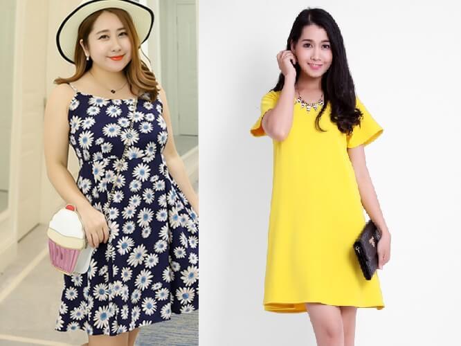 Người mập nên mặc váy gì? Lưu ý khi mặc váy cho nữ béo