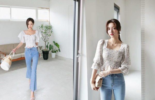 Xu hướng áo blouse dáng lửng cho nàng công sở