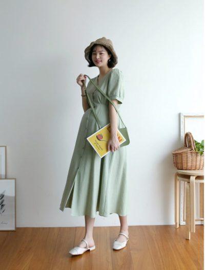 Những mẫu váy này sẽ tạo nên vẻ quyến rũ cho phong cách các mẹ bầu.