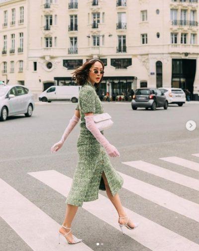 Chriselle Lim – Nữ hoàng công sở thích mặc váy điệu - Ảnh 1