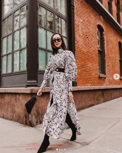 Chriselle Lim – Nữ hoàng công sở thích mặc váy điệu - Ảnh 2
