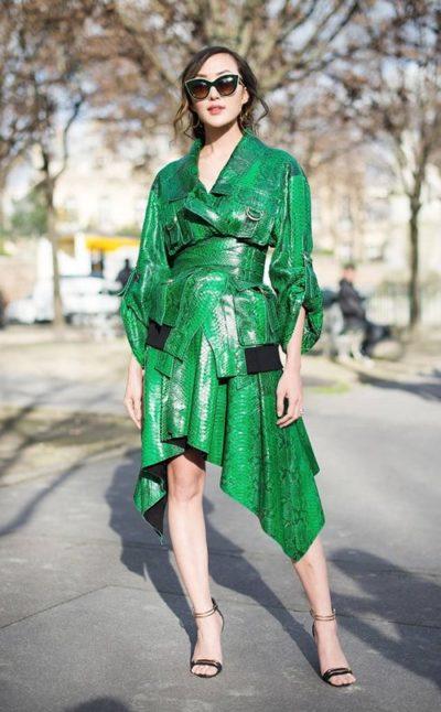 Chriselle Lim – Nữ hoàng công sở thích mặc váy điệu - Ảnh 3