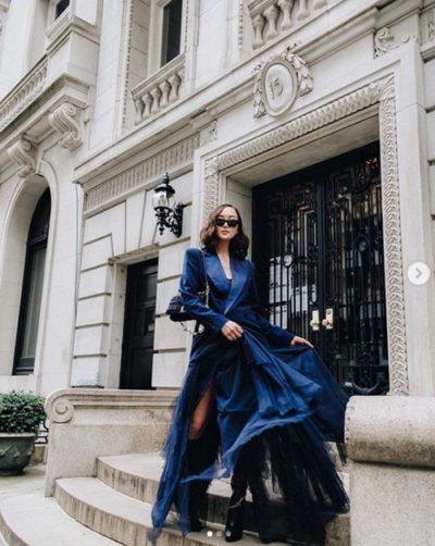Chriselle Lim – Nữ hoàng công sở thích mặc váy điệu - Ảnh 4