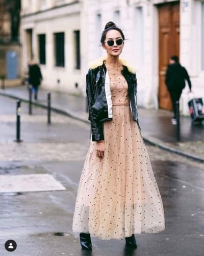 Chriselle Lim – Nữ hoàng công sở thích mặc váy điệu - Ảnh 5