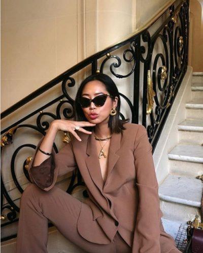 Aimee Song - 1001 cách mặc đẹp với suit và blazer - Ảnh 2