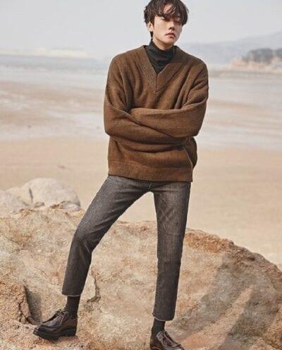 Phối áo len nam với bất kỳ loại quần nào