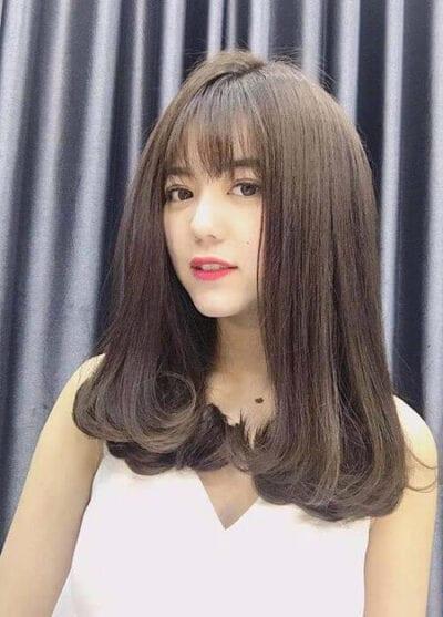 Kiểu tóc ngang vai 2021 đẹp - Ảnh 12