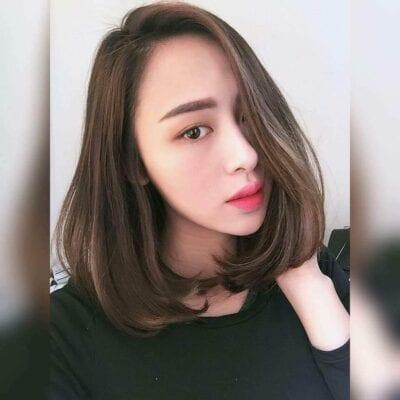 Kiểu tóc ngang vai 2021 đẹp - Ảnh 36