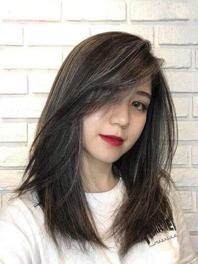 Kiểu tóc ngang vai 2021 đẹp - Ảnh 39