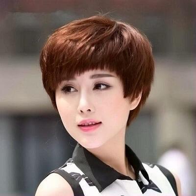 Kiểu tóc tém đẹp đón Tết 2021