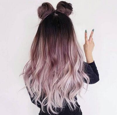 Màu tóc nhuộm Ombre đẹp 2021