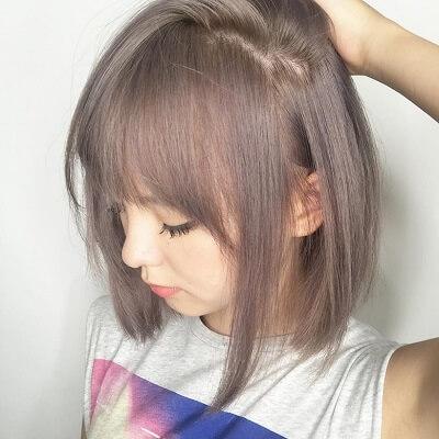 Màu tóc đẹp 2021 nâu khói
